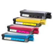 Toner Cartridge, 5000 Page Yield, Yellow. 4 EA/BX.