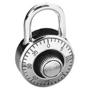 Economy Combination Lock, Secure 3 Number Dialing. 1 EA/CD.