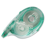 "Mono Correction Refillable Tape, 1/6""x472"", White. 1 EA/CD."