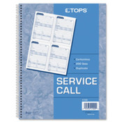 "Call Message Slip Book, 11""x8-1/4"", 2-Part, 200Sets/PK. 200 ST/EA."