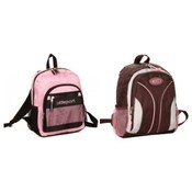 Mini-Size Multi-Pocket Backpack, 2 Assorted Styles