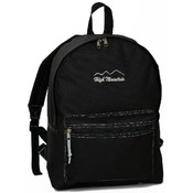 Classic Backpack With Front Zipper Pocket
