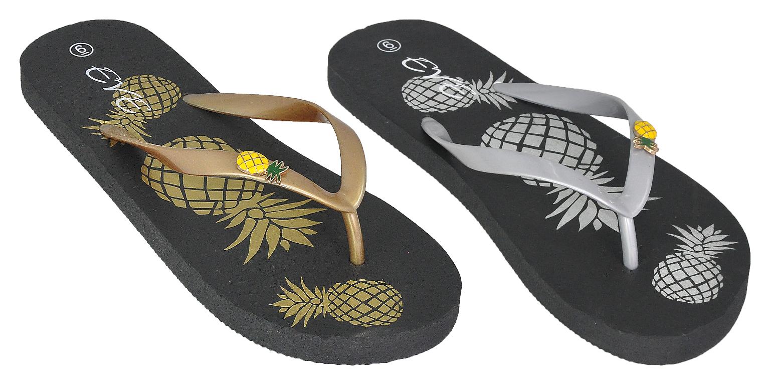 Ladies Pineapple FLIP FLOPS [2331071]