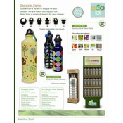 Eco Green Canteen with Designer Prints
