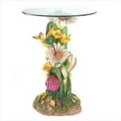 Hummingbirds Accent Table