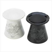 Black And White Oil Warmers