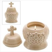 Cathedral Lidded Candle