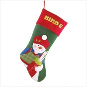 Golf Snowman Stocking