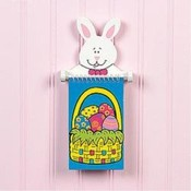 Bunny Spiral Holder with Notepad