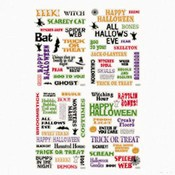 5 Pack Halloween Epoxy Stickers Wholesale Bulk