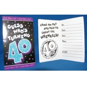 Look Whos 40 Invitations Wholesale Bulk