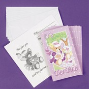 Teddy Bear Tea Party Invitations Wholesale Bulk