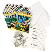 Cabana Cove Invitations Wholesale Bulk