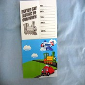 Transportation Invitations Wholesale Bulk