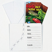 Bug Out With Us Invitations Wholesale Bulk