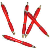 Satin Silhouette Red Pen Wholesale Bulk