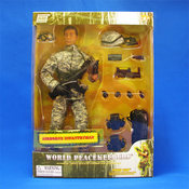 World Peacekeepers Airborne Infantryman Figurine