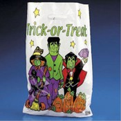 Plastic Trick-Or-Treat Bags
