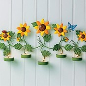 Sunflower Tealight Holder