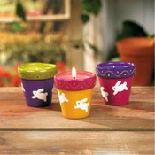 Bunny Flower Pot Candles Wholesale Bulk