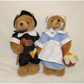 Pilgrim Bear Couple