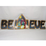 Wooden Believe Blocks Wholesale Bulk