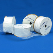 Simply Sheer White Ribbon Wholesale Bulk