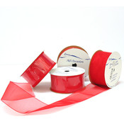 Simply Sheer Red Ribbon Wholesale Bulk