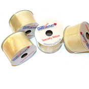 2 inch Ivory Wired Sheer Ribbon Wholesale Bulk