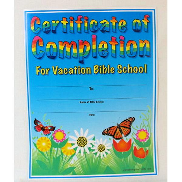 Wholesale vbs certificates of completion 25 pcs sku 787521 wholesale vbs certificates of completion 25 pcs sku 787521 dollardays yelopaper Gallery