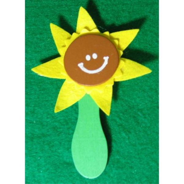 Wholesale wooden spoon sunflower pin craft kits sku - Cheap wooden spoons for craft ...