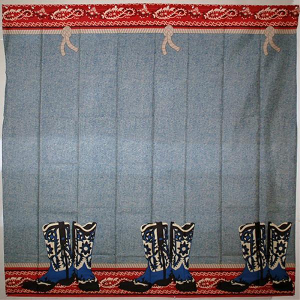 Wholesale Western Shower Curtain SKU 697564 DollarDays