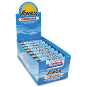 Savex .15 Oz Medicated Lip Balm Display