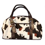 Women's Cow Hide Print Hand Bags