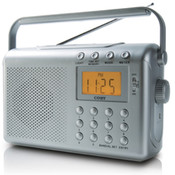 Portable AM/FM/NOAA Weather Band Radio