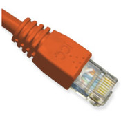 Patch Cord, CAT6 Booted, 1 Foot - Red Wholesale Bulk