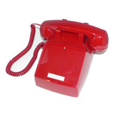 250047-VBA-NDL Red desk no dial Wholesale Bulk