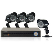 4CH 500GB DVR W/ 4 IN/OUTDOOR CAMERAS