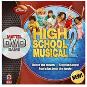 High School Musical DVD Game