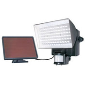 80 LED Solar-Power Motion-Activ - Black