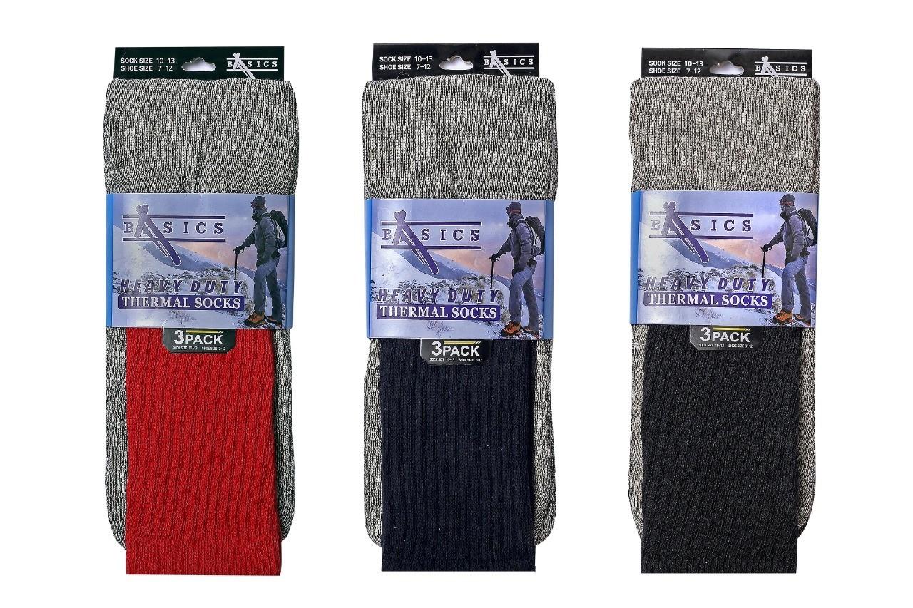 Multi-Color Thermal Socks Size 10-13 [1935420]