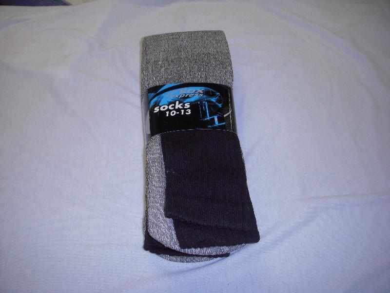 Mens Thermal Socks Black - Size 10-13 [1777398]