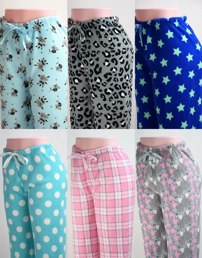 Women's Fleece PAJAMAS Pants (2128021)