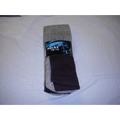 Mens Thermal Socks Black Wholesale Bulk