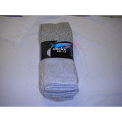 Mens Thermal Socks Grey Wholesale Bulk