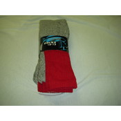 Mens Thermal Socks Red Wholesale Bulk