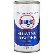 Magic Shaving Powder Blue Regular Strength