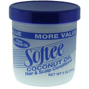Softee Pure Coconut Oil Hair And Scalp Conditioner