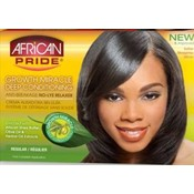 African Pride Olive Miracle Conditioning Anti-Breakage No Lye Relaxer Regular Wholesale Bulk