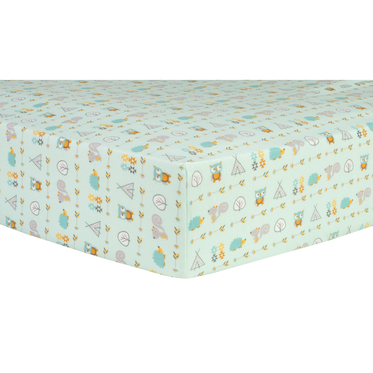 Wholesale Southwest Adventures Deluxe Flannel Fitted Crib